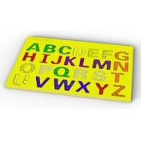 Silicone Puzzle & Toy Capital letters ABC silicone jigsaw puzzle