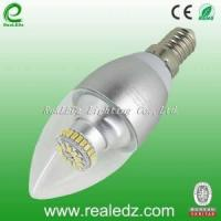 Buy cheap 4W E14 Clear Cover Round Tail LED Candle Light from wholesalers