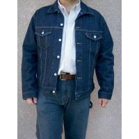 Buy cheap Levis Denim Jacket - Dark Denim from wholesalers