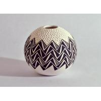 Buy cheap Acoma White Etched with Black Design from wholesalers