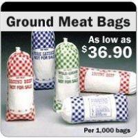 Ground Meat Bags - Meat Bags In Stock