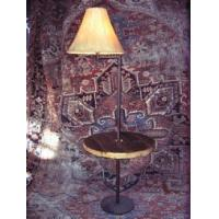 Buy cheap Swing Arm Floor Lamp with 23 inch diameter rustic table from wholesalers