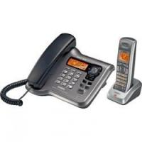 cordless corded phone with answering machine