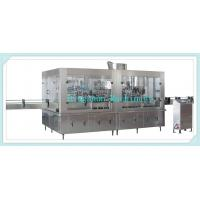 Buy cheap Glass Bottle Filling Line Carbonated Drink Glass Bottle Filling Monobloc from wholesalers