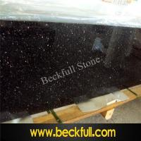 Buy cheap Indian Black Galaxy Countertops for American Marketing from wholesalers