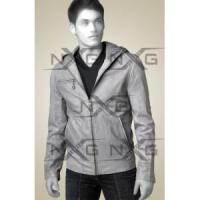 Buy cheap Hooded Leather Jacket from wholesalers