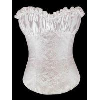 Buy cheap White Paisley Design Corset,T8263-3 from wholesalers