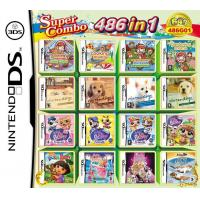Buy cheap WholeSale 3Pieces/Lot, 486-in-1 Super Game Card 64GB Multi Games Card for Nintendo DS from wholesalers