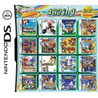 Buy cheap WholeSale 3Pieces/Lot, 482-in-1 Super Game Card 64GB Multi Games Card for Nintendo DS DS Lite from wholesalers