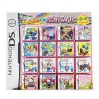 Buy cheap WholeSale 3Pieces/Lot, 520-in-1 Super Game Card 64GB Multi Games Card for Nintendo DS DS Lite from wholesalers