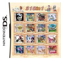 Buy cheap WholeSale 3Pieces/Lot, 318 in 1 Game Card for 3DS/NDSI/NDSILL/NDSIXL/NDSL/NDS from wholesalers