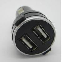 Buy cheap USB Car Adaptor 5V 2A Small Auto USB Adapter Dual Port USB Car Charger For iPhone 4G / 3G / ipad from wholesalers