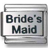 Buy cheap Birthdays, Wedding and Graduation Bride's Maid Italian Charm from wholesalers
