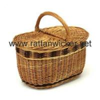 Buy cheap Willow wicker picnic hampers from wholesalers