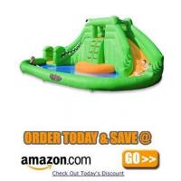 Buy cheap Blast Zone Crocodile Isle Inflatable Water Park  Snap Into Summer On Crocodile Isle from wholesalers