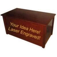 Buy cheap Custom Laser Engraved Blanket Chest and Toy Chest from wholesalers