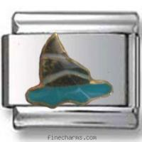 Buy cheap Sailing Boat Italian Charm from wholesalers