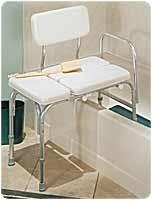 Buy cheap Bathroom Safety Aids DELUXE VINYL PADDED TUB TRANSFER BENCH W/FULL SEAT from wholesalers