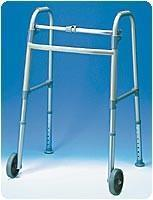 Buy cheap Ambulatory Aids 5 WHEELED WALKER WITH GLIDES, 2 PER CASE from wholesalers