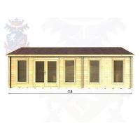 Buy cheap Log Cabins Gatwick 2122 from wholesalers