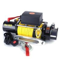 Buy cheap Heavy Duty Electric Winches synthetic rope winch 12000lb good quality product