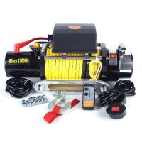 Buy cheap Off Road Winches 12000lb electric winches for off road shops from wholesalers