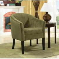Buy cheap Accent Seating Accent Chair with Micro velvet Upholstery from wholesalers