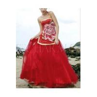 Buy cheap Chinese Wedding Dress Chinese Bride Charming Dress from wholesalers