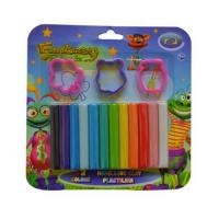 Buy cheap Stationery  12 colors modelling clay from wholesalers