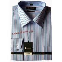 Buy cheap Mens poly cotten stripe formal dress shirts from wholesalers