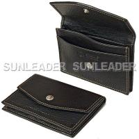 leather accessaries 106301-Functional leather business card holder