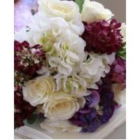 Buy cheap Silk Flowers Silk Blue Bouquet from wholesalers