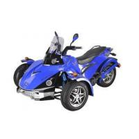 Buy cheap Blue Three Wheel Quad Bike 250CC With EEC Standard , Off Road Quad from wholesalers