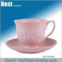 Ceramic cup&saucer ceramic espresso cup and saucer