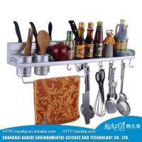 Buy cheap Kitchen Organizers for family stainless steel kitchen storage shelf product