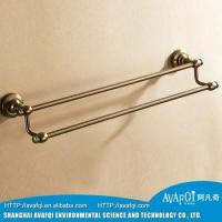 Buy cheap Bathroom Accessories chrome folding bathroom towel rack towel shelf from wholesalers