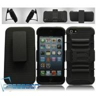 Buy cheap Mobile Phone Combo Robot Case Belt Clip+Stand Holter Case for Apple iPhone 5 5G product