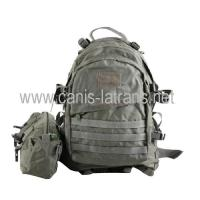 Buy cheap Bags Molle Tactical military army large capacity backpack daypack with one pouch CL5-0005RG from wholesalers