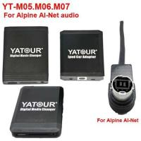Buy cheap YT-M05.06.07 for aftermarket Car audio Yatour iPod/USB Car audio player for Alpine(YT-AINET) from wholesalers