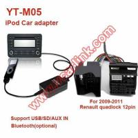 Buy cheap iPod Car Adapter YT-M05 YT-M05 for 09-11 Renault quadlock 12pin(REN12) from wholesalers