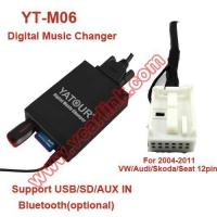 Buy cheap Digital Music Changer YT-M06 YT-M06V Car MP3 for VW/Audi/Skoda/Seat 12pin(VW12 and VW12D) from wholesalers