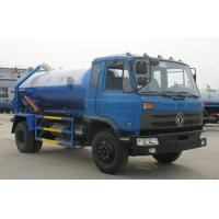 Buy cheap Suction sewage truck Dongfeng 153 10.42cbm from wholesalers