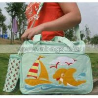 Buy cheap Wholesale Cute Castle Mummy Bag Plug Diaper And Nursing Bottle -In Stock#A01-0039 from wholesalers