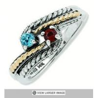 Buy cheap Generations of Love Two Tone Family Ring from wholesalers
