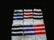 Buy cheap Youth Girls Socks Girls 3 Stripe Tube Socks 6 Pair from wholesalers