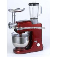 New professional kitchen stand mixer with meat grinder and blender