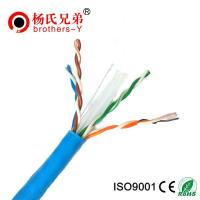 Buy cheap 24awg utp color code cat5e lan cable from wholesalers