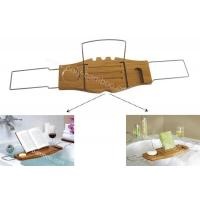 Buy cheap Bath Accessories  Bamboo Bathtub caddy from wholesalers