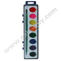 8 colors water color (damp-dry)