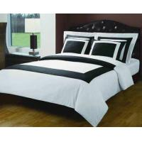 Buy cheap Black And White Hotel Egyptian Cotton Down Alternative Bed In A Bag from wholesalers
